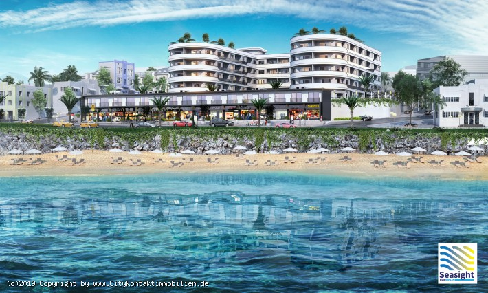 Seasight App. mit 98 Suite, Neubau an der Ägäis in Kusadasi-TR